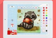 Mini Monet - Creative Studio and Art Club for Kids on the iPad / Mini Monet - Creative Studio and Art Club for Kids. For the iPad / by Sprite Kids