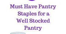 Frugal Pantry / Pantry staples | pantry staples recipes | pantry organizing | kitchen pantry | pantry list | frugal pantry | must have pantry items