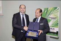 Best Seller Award 2013 / #Fieragricola2014 #bestselleraward Fieragricola rewards the top names in agricultural engineering on the basis of the best business performance in 2013.