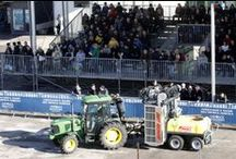 #Fieragricola2014 Snapshots / Some views of the 2014 edition and the technical presentations of open-field and vineyard machinery and equipment in dynamic outside area A at Fieragricola.