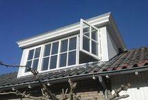 Dakkapellen / Twijfel je of je een dakkapel op je huis wil laten plaatsen? Afgezien van meer zonlicht en meer ruimte in je huis, ziet het er ook nog eens heel mooi uit. Kijk je met ons mee?