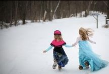 Frozen Costume / Frozen Inspired Dresses - Elsa & Anna Costume Dresses / Frozen costume DIY /