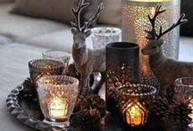 Kerst / Elk jaar opnieuw een uitdaging: het huis in kerstsfeer brengen. Wij helpen je!