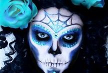 Halloween / Makeup and costume ideas