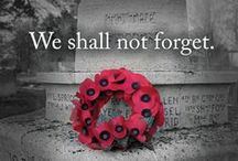 Remember / Remember those who died in the wars.