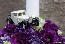 Aranjamente Flori Botez Baieti / Aranjamentele florale pentru lumanarea de botez, pentru cristelnita si pentru decorarea spatiului unde se va desfasura petrecerea sunt cele care dau tonul intregului stil al evenimentului.