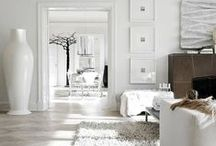White | Home / Collection of beautiful white interiors