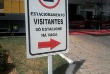 Placas de sinalização / Placas de sinalização para condomínios, engenharia, construtora, terraplanagem, corporações,empresas e lojas em geral
