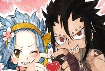 GaLe / Levy And Gajeel Are So Cute