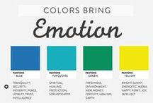 Kolory / Zastosowanie kolorów. Palety kolorów warte uwagi. Inspiracje kolorystyczne.
