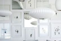 Gallery Walls | Home / Collection of ideas for hanging pictures, photos, art