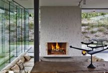 Fireplace | Home / Ideas for the fireplace