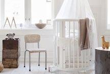 Babykamer / Niks leukers dan de babykamer inrichten! Die 9 maanden zijn tenslotte zo voorbij. We helpen je op weg met inspiratie voor de kleine!