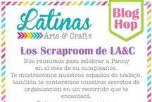Blog Hop Scraproom / Scraprooms del equipo de diseñado de LA&C