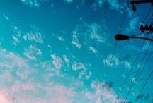 Photos - Blue Pink Light