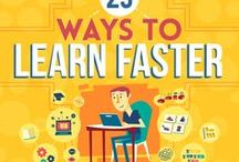 Study methods, memory tips, language learning / Useful and effective tips and ideas to study everything easier