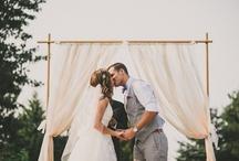 Outdoor Ceremony Decor / by Love & Lavender | Wedding Blog
