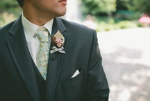 Groom Style / From Groom ties, bow ties, socks, suites and tuxedos, get ideas for your groom and his groomsmen. / by Love & Lavender | Wedding Blog