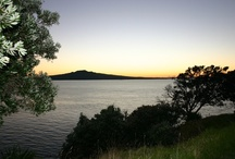 View From Devonport NZ / Sunrise from North Head.