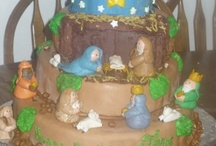 Nativity cakes, cupcakes and pops