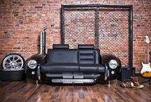 Car parts furniture