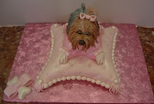 Yorkie cakes, cupcakes and pops