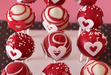 ❤Valentine cakes, cupcakes and pops❤