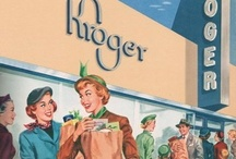 Your Neighborhood...  / Spending time at the grocery store is a big chunk of our life... Let's take a little time to honor the Grocers! Throwbacks and contemporaries, we love these stores & advertisements!