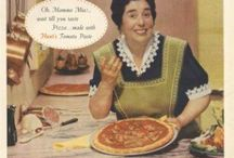 Vintage Pizza Ads / Pizza ads from before today. Pizza is timeless but the ads just get hilarious. #pizza www.pmq.com