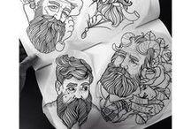 Tattoo flash