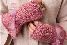 Fingerless gloves / by Kim