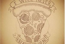 Pizza Tattoo Art / Cool pizza tattoos from those who love pizza as much as PMQ.com