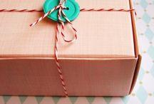 Packaging da provare! / Ispirazioni per i prossimi cadeaux!