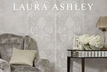 Laura Ashley / The Laura Ashley tile collection is the perfect finishing touch for any room in the home, and has been designed to compliment a wide range of Laura Ashley furniture and accessories, as well as paints and wallpapers. With coordinating ranges of patterned features, plain tiles and decorative borders you will be sure to find a look thats right for you.