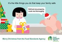 Christmas Turkey 2014 / The FSA's award winning food safety campaign activity for  turkeys this Christmas with advice on the best ways to defrost, prepare, cook and store leftovers to avoid the dangers of food poisoning. It's the little things you do that will keep your family safe this Christmas