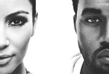 Kim & Kanye / Kim Kardashian & Kanye West