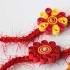 Easy Rakhi Ideas / Ideas to create beautiful Rakhis for your dear brothers in a jiffy! It will be a very happy Raksha Bandhan indeed with these helpful DIY pins.