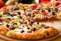 recepty - pizza, langoše