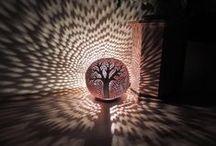 keramika - svícny, lampy