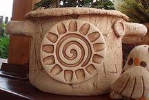 keramika - květinače