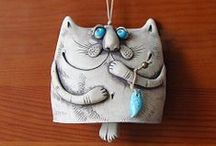 keramika - kočka