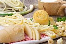 recepty - sýry, jogurty, mléčné výrobky