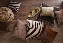 Hide and Seek / From inspirational interiors to our own collections - take a walk on the wild side with these animal prints, patterns and hides.
