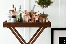 Cocktail Hour / Bar carts, cocktail accessories, bar ware tips, recipies and more!