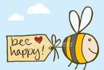 Bee & Happy / Don't warry - Bee Happy and Beesocial!