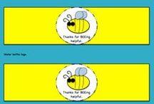Bee & School / Bees at School is very social!