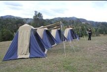 Tents Tents & More Tents / Camping begins with a tent for lovers of sleeping in the great outdoors in imaginative ways.