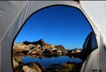 Views from a tent / As the name indicates - the beautiful views from tents all over the world.