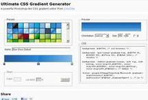 Gerador automático de CSS / Gera códigos CSS prontos