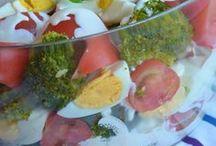 Sałatki, zapiekanki / Surówki warzywne i sałatki warzywno - makaronowe,zapiekanki mięsno-warzywne i inne